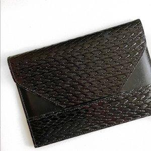 Vintage braided wallet.